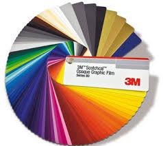 3m Scotchcal Vinyl Color Chart 3m Scotchcal Graphic Film Series 80 Coloured Film