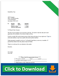 Delinquent Account Letter Template Collection Letter Samples Demand Letter For Payment And More
