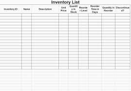 Supply List Template Simple 44 Inventory Checklist Templates Free Sample Example Format Supply