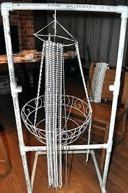 how to make beaded chandelier diy bead chandelier idea for home decoration 6 beaded chandelier