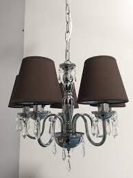 Kronleuchter Braun Doooitlight Set Mit 6 Clip Lampenschirmen