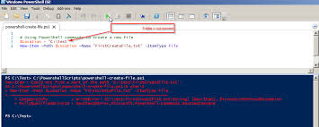 How To Create A Directory Powershell Create File