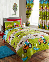 kids club farmyard duvet cover set double