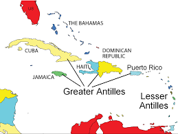 Chart Of Caribbean Islands 5 4 The Caribbean World Regional Geography
