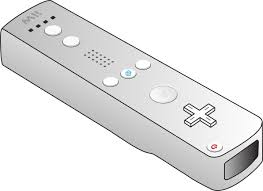 remote control drawing. wii remote clip art control drawing