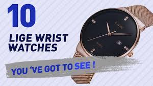 <b>Lige</b> Wrist <b>Watches</b> For <b>Men</b> // <b>New</b> & Popular 2017 - YouTube
