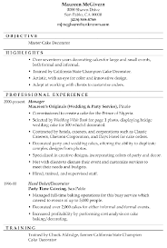 Breakupus Inspiring Resume Sample Master Cake Decorator With     Breakupus Gorgeous Resume Sample Master Cake Decorator With Amazing School Counseling Resume Besides Resume Examples For
