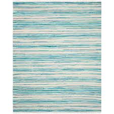 safavieh rag rug ivory green 8 ft x 10 ft area rug