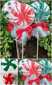 Big Candy Cane Decorations 60 Impossibly Creative DIY Outdoor Christmas Decorations DIY 57