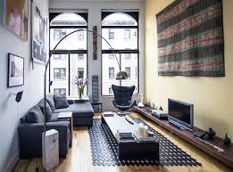 stylish urban life // living room // city loft // urban suite /