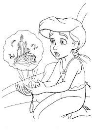 Small Picture 272 best Arielle images on Pinterest Drawings Disney coloring