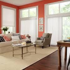 Premier 2 Light Filtering Vertical Blinds White Window Treatments ...