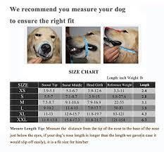 Jeonbiupet Adjustable Dog Muzzle Anti Bite Bark Allow Drink
