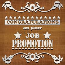 Congrats On Your Promotion Congratulations On Your Job Promotion Vector Image 1828447