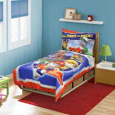 clever ideas toddler bed comforter sets com paw patrol set blue baby