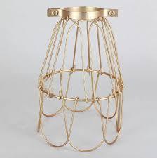 copper finish bulb cage
