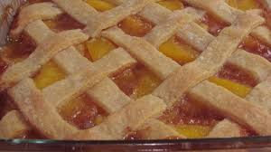 southern peach cobbler with pie crust. Photo Of Old Fashioned Peach Cobbler By ELETA Throughout Southern With Pie Crust