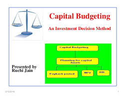 Capital Budgeting Ppt