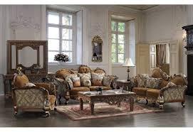 Upholstered Living Room Furniture 260 Homey Design Upholstery Living Room Set Victorian European