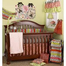 cotton tale designs here kitty kitty animal prints 4 piece crib bedding set