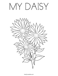 Small Picture Inspirational Daisy Coloring Pages 32 About Remodel Download