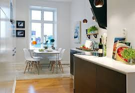 Small Kitchen With Dining Table Small Kitchen Dining Table Ideas Home Design Ideas