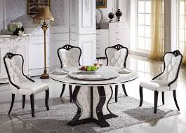 Round Marble Table Set Contemporary Design Round Marble Dining Table Sweet Inspiration