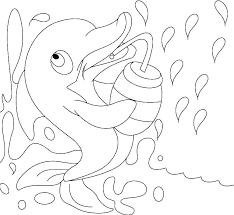 Dolphin Coloring Pages Printable Coloring Pages Dolphin Dolphin