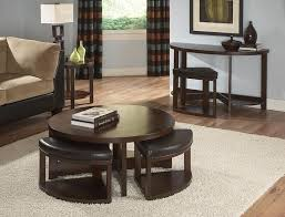 coffee tables and stool sets that