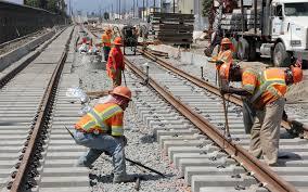 Αποτέλεσμα εικόνας για railway ballast laying