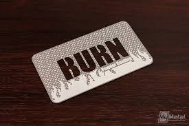 Steel Business Cards Diamond Plate Stainless Steel Business Card On Behance