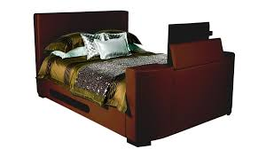 beds for sale online. Palermo-TV-Bed-Brown-Faux-Leather Beds For Sale Online