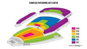 Tpac War Memorial Seating Chart 54 Paradigmatic Nashville Performing Arts Center Seating Chart