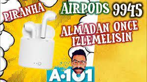 a101 Aırpods Piranha 9945 Bluetooth Kulaklık DETAYLI İLK BAKIŞ - PİNTİ  AKTÜEL İNCELEME - - YouTube