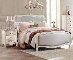 kensington white finish katherine full size upholstered bed
