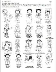 Community Helpers Clipart Black And White ...
