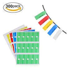 Cable Labels,LANMU Self-adhesive Cable Label,Cable/Cord Identification Tags,