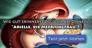 ᐅ Wie Gut Erinnerst Du Dich An Disneys Arielle Die Meerjungfrau