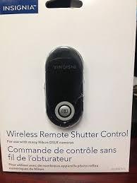 Insignia Wireless Remote Shutter Control Nikon Compatibility Chart Ns Wscn C Electronics Accessories Insignia Remote Wireless