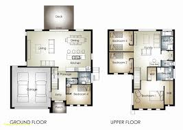 2 Bedroom Double Storey House Plans Fresh Two Storey 3 Bedroom House Design