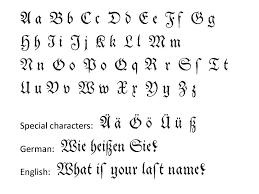 Fonts For Tattoos Fraktur Alphabet Tattoo Script Fonts Tattoomagz
