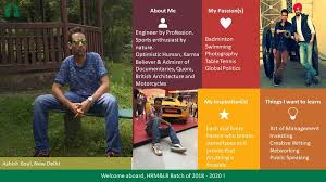 Introducing Ashish Koul from Delhi!... - TISS Mumbai, HRM & LR   Facebook