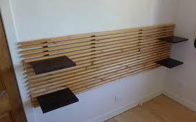 Image of: Ikea Mandal Headboard Drywall