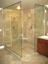 custom glass shower walls and doors frameless how to clean bathrooms fascinating interior open wi
