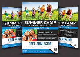 school flyer psd photos graphics fonts themes templates kids summer camp flyer templates