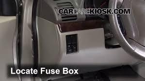 interior fuse box location 2002 2006 suzuki xl 7 2003 suzuki xl 7 1999 Suzuki Vitara Lift Kit locate interior fuse box and remove cover