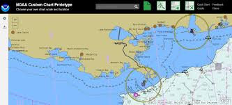 Online Noaa Custom Chart Lets Boaters Create Their Own