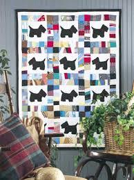 Free Baby Quilt Patterns - Scottie Dog Scrap Baby Quilt -- Free ... & Scottie Dog Scrap Baby Quilt Adamdwight.com