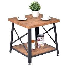 metal top wood coffee table round glass with base