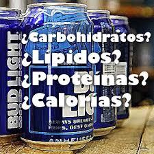 calorias de una cerveza bud light